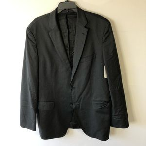 Hugo boss dark gray blazer size 46L new